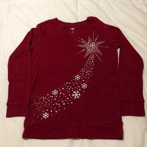 Girls Gymboree Snowflake ❄️ Tunic Shirt